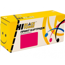 Картридж HP CLJ № 201A, CF403A (Hi-Black) Красный