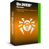 Dr.Web Security Space + Криптограф (Бастион) 2ПК/Mac 1 год (электронная лицензия)